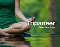 Tripaneer / Landing Page Concept