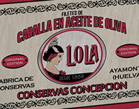 Packaging Vintage Conservas