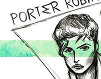 Artist Illustration - Porter Robinson