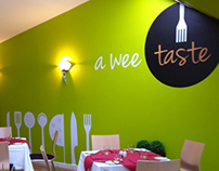 Cumbernauld College Restaurant Re-brand