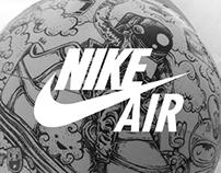 Nike AF1 XXX exhibition