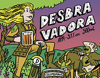 Desbravadora - Beer Label
