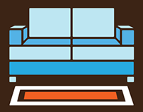 Home Comfort Furnishings (logo || identity collateral)