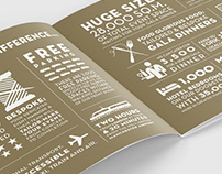 EvenCity Gala Dinners Brochure