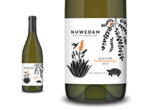 Nuwedam Wine Label