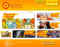 Website Quanta Academia de Artes