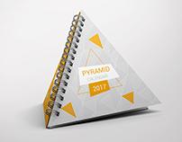 Pyramid Calendar Mock-Up