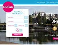 Ouigo website