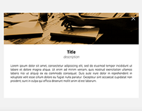 CSS3 + JQUERY - Grid Items Animation