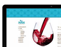 Nau   //  Restaurante de Frutos do Mar - Online