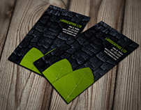 Landscapers Landscaping Service Business Cards
