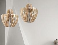 EGO- Wood lamp