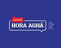 Hora Aghá - Identidade Visual