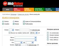 WebMotors: Juntar busca (Novos e Usados)