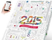 Future Retro - 2015 Yearbook Cover Standard