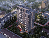 Housing estate in Rostov-on-Don
