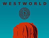 Westworld - Cartaz
