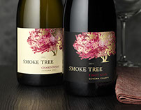 Smoke Tree Wine Label & Packaging