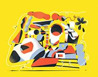 Illustration for Revista Saúde