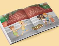 """Childrens book """"El fil màgic de la iaia"""""""