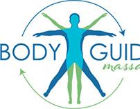 Body Guide Massage identity design
