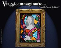corporate identity for Coscarelli's exhibition