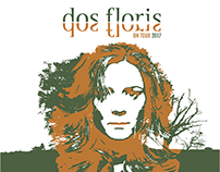 Dos Floris 2017 UK tour poster