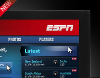 ESPN cricinfo IPTV  Advertising