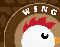 Rebrand of Wing Central: Chicken With Attitude