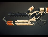 Arc-gen gun model