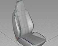 2015 - Seat Project Sketch modeling