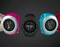 The iTouch Curve Watch Collection