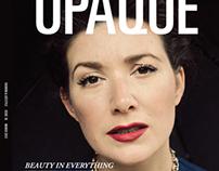 Opaque magazine