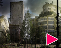 100y Abandoned Eindhoven + Time Lapse video