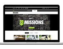 Nike+ Missions Facebook App