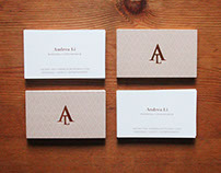 Wedding Connoisseur Business Cards