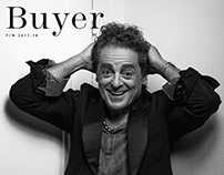 Buyer magazine cover. Armand Hadida.
