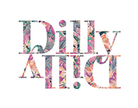 Branding for Dilly Dilly Florists