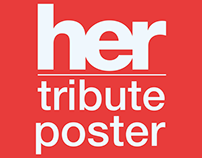 Her Tribute Poster
