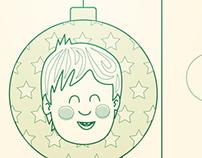 Tarjeta de navidad 2012-13