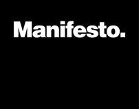 Manifesto.