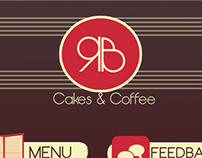 RB Cakes & Coffee Adobe AIR Design