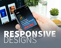Responsive design & Standee