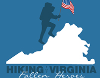 Hiking for Virginia Fallen Heroes