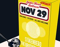 SpiderHouse Ballroom - Gig Poster - Austin TX