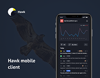 Hawk mobile client - concept