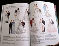 MilkX Magazine #82 Editorial Illustrations