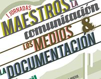 Cartel Jornadas UCM con GREY y Sra. Rushmore
