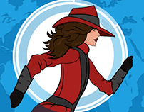 Carmen Sandiego Returns Icon Redesign