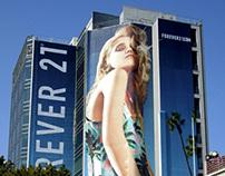Sky Ferreira for Forever 21 - OOH Campaign